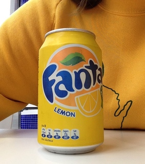 colours, yellow and fanta