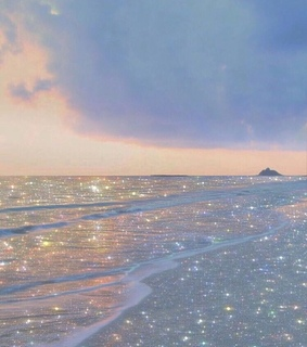 beach, shimmer and sunrise