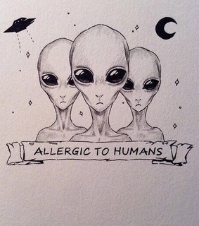 alien, quotes and words