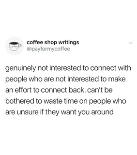 truth, lack of interest and quotes