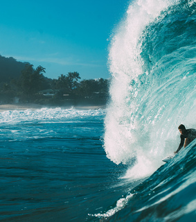 surfing, beach and tropical blog