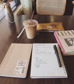 study, books and notebook