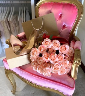pink, gift and love
