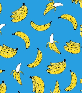 pattern, banana and wallpaper