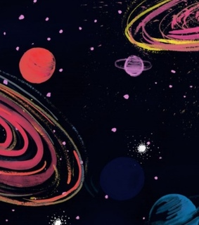 galaxy, background and universo