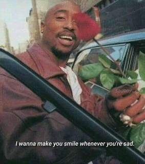 sad, tupac and quote