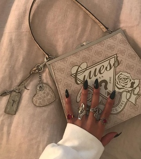 bags, fashion and guess