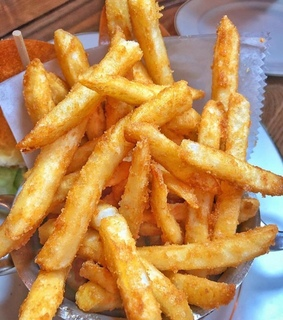 frites, food and chips